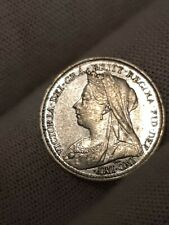 More details for great britain  3 pence 1896 choice unc  pl63