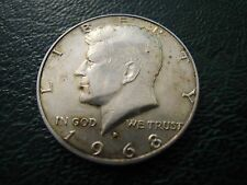 MONETA HALF DOLLAR - UNITED STATES OF AMERICA - 1968 ARGENTO SILVER  (S-O-6)
