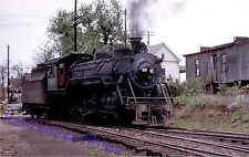Gainesville Midland 2-10-0 steam locomotive train railroad postcard