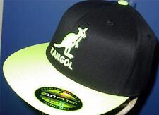 Licensed Kangol Baseball Player Hat Beret Flexfit S/M Neon Y    TOO FRIKIN COOL!