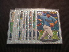 2013 BOWMAN TAMPA BAY RAYS SILVER ICE TEAM SET 10 CARDS EVAN LONGORIA