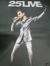George Michael 25 Live Official EX Tour Poster 84 X 60 Wham RARE Original
