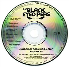 The Black Eyed Peas INVASION OF BOOM BOOM POW Megamix EP (Promo CD) (2009)