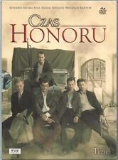 Czas Honoru - Sezon 3 - serial TV (DVD 4 disc) POLSKI POLISH