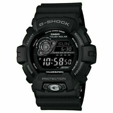 Casio Men's GR8900A-1 G-Shock Tough Solar Digital Black Resin Sport Watch-H89