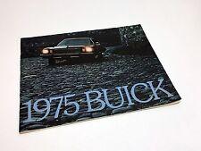 1975 Buick Electra LeSabre Riviera Century Regal Skylark Apollo Skyhawk Brochure