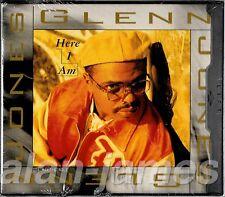Glenn Jones HERE I AM + Round & Round (Remix) 1994 US CD Single SEALED