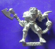 Champion of Khorne citadel GW games workshop 1987 axe & macetail juggernaut face