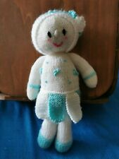 Hand Knitted Doll  New.