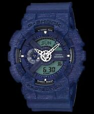 GA-110HT-2A Blue Casio Watches G-Shock 200M Analog Digital X-Large Resin New