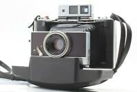【Exc+4】 POLAROID Model 180 Instant Film Camera w/ Tominon 114mm F/4.5 From JAPAN