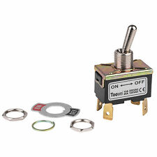 DPST On/Off Toggle Switch 4 Spade 20A 125VAC 2 Position