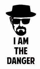 Breaking Bad Heisenberg I Am The Danger Vinyl Decal Sticker for Car/Window/Wall