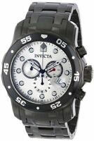 New Mens Invicta 80075 Pro Diver Chronodraph Ion-Plated Stainless Steel Watch