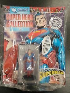SUPERMAN EAGLEMOSS DC COMICS SUPER HERO COLLECTION #2  & LEAD FIGURE NEW