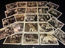 GUN BROTHERS Buster Crabbe 82 photos cinema presse argentique western 1956