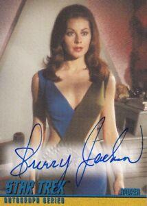 STAR TREK (TOS) The Original Series  Autograph Card A26 Sherry Jackson as Andrea