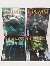 GRIMM #1-4 - TV Photo Covers - Dynamite Entertainment - NBC - High Grade VF/NM