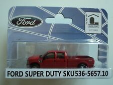 RIVER POINT  2008  FORD  F-350 XLT SPORT CREW CAB  RED 1/87  HO   PLASTIC