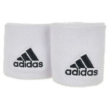 Adidas Tennis Wristband Small White Black Sweatband Unisex Mens S97837 New 2017