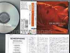 # Promo! GERI HALLIWELL-SPICE GIRLS Schizophonic JAPAN CD w/OBI+PS TOCP-65212