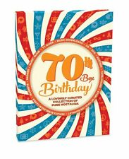70th Birthday Box - Story of Your Life DVD,CD,Card Download,Booklet and Retro