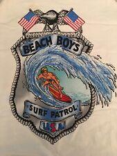 Vintage 1991 Beach Boys Authentic Tour Tanktop  XL Beachwear Surf Turf Brockum