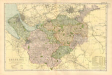 Cheshire 1800-1899 Date Range Antique Europe County Maps