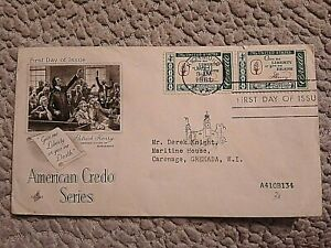 USA FIRST DAY COVER 1981 AMERICAN CREDO SERIES