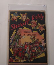 Sheriff Teddy (Lehning, Gb.) Nr. 33 (Z2)