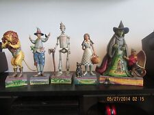 Jim Shore Wizard of Oz Tin Man Dorothy Scarecrow Lion Witch Heartwood Creek 2007