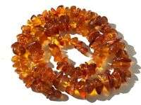 Natural Vintage Amber Beads Antique Baltic Old Necklace 48,24 gr.