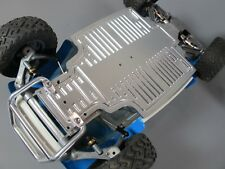 Aluminum Front Bumper Guard+ Chassis Plate Tamiya 1/10 Sand Scorcher Champ Buggy