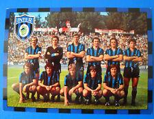 CARTOLINA SQUADRA INTER 1974/75 - cm. 15X21