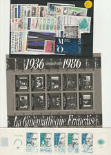 TIMBRES FRANCE NEUFS ANNEE COMPLETE 1986 STOP AFFAIRE