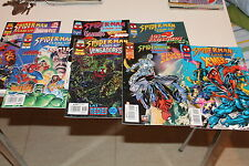 Spiderman Team Up Completa del 1 al 7 con los X Men 4 Fantasticos Vengadores