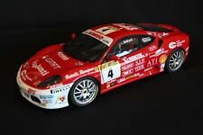 Hot Wheels Elite Ferrari F430 Challenge 2006 1:18 #4 Andrea Belluzzi (ITA) (MCC)