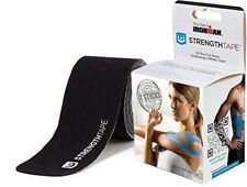 StrengthTape Kinesiology Tape 16 Foot Roll, 20 x 10 In Precut Strips 6305-510PC