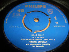 "FRANKIE VAUGHAN "" HELLO DOLLY "" 7"" SINGLE EXCELLENT 1964"