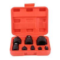 "8X Impact Reducer Adapter Socket Convertor Mechanics Set 1/4"" 3/8"" 1/2"" 3/4"" 1"""