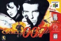 Nintendo 64 N64 Goldeneye 007 James Bond Video Game Cartridge *Cosmetic Wear*