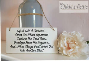 Inspirational Quote Handmade Wooden Plaque, Gift, Home, Sign,