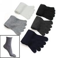 5 Pairs Fashion Men Five Fingers Separate Toe Socks Comfortable Warm Hot UK
