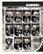2006 Oakland Raiders Composite 8x10 Photo Brooks Sapp Moss NFL