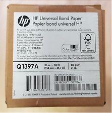 HP Q1397A Carta Universale Inkjet 80 g/m (914 mm. x 45,7 m.)