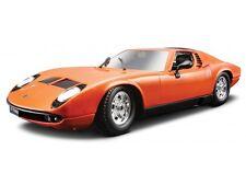 LAMBORGHINI MIURA 1:18 Diecast Car Model Die Cast Cars Models Metal