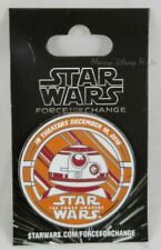 New D23 Expo 2015 Disney Sorcerer Ed Star Wars BB-8 Force For Change Pin Limited