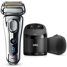 Braun 9295CC Series 9 SyncroSonic Wet-Dry Self-Cleaning Shaver