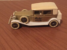 Lledo Car - Minder Christmas Special 1988 - Gold Colour - Excellent Condition
