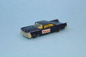 Vintage Husky Corgi Buick Electra Police Car VGC